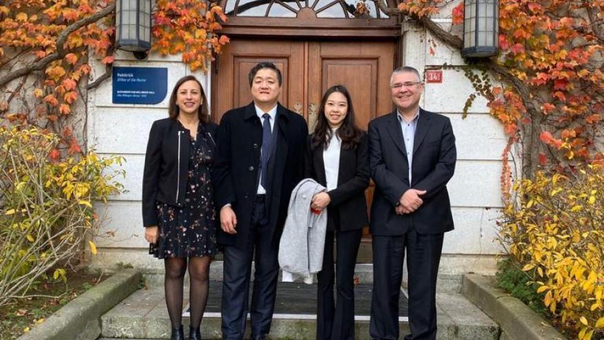 National University Kaohsiung Visit to Boğaziçi University